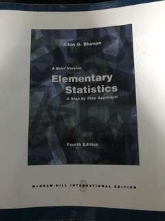 A brief version Elementary Statistics - A step by step approach