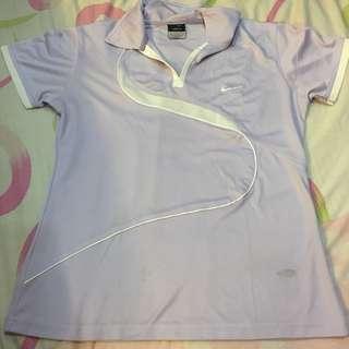 Preloved Auth Nike Drifit Shirt Lavander