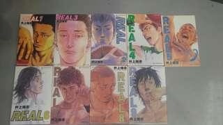 Real 井上雄彦 天下出版 1-9
