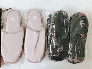 Bedroom Slippers from hotel