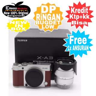 Fujifilm X-A3 KIT XC16-50mm+Instax Mini 8 Resmi Cash/kredit Dp900rb Call/Wa;081905288895