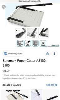🚚 Suremark A3 paper cutter