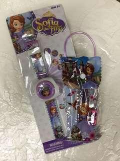 Sophia Projector Watch bundle set