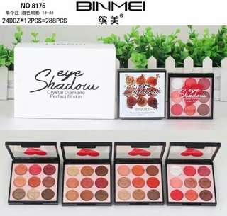 BINMEI EYESHADOW CRISTAL DIAMOND / EYESHADOW PALLETE