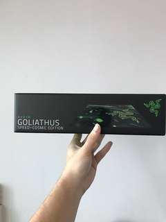 Razer Goliathus mousepad speed COSMIC edition