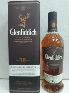 Glenfiddich 18 Songle malt.scotch whisky