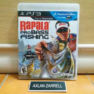 Playstation 3 Games : PS3 Rapala Pro Bass Fishing