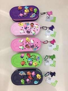 Authentic Crocs pencil case phone case or make up kit