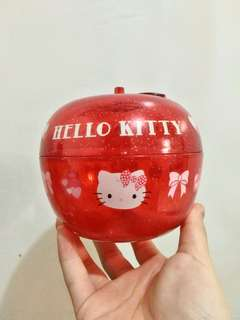 Hello kitty apple container