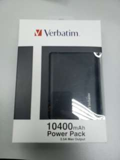 Verbatim 10400mAh Power Pack 2.5A