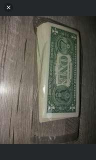 全新230張美金1蚊