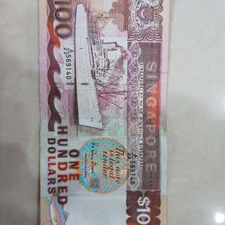 100 Old notes