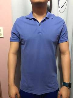 Folden & Hung Blue Polo Shirt