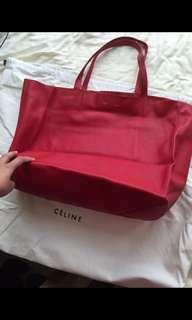Celine紅色袋牛皮