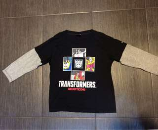 [INCLUDING POSTAGE] Transformers long sleeve shirt