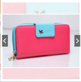 BIRD LOGO LONG PURSE Harga: rm35 free pos