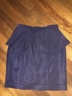 Dude & The Duchess Navy Skirt