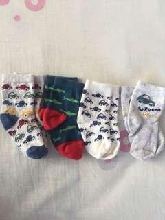 Mothercare baby socks (4 pairs)