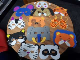 JUNGLE SAFARI MASKS