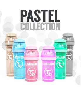 Twistshake (Pastel Collection) Anti-Colic Feeding Bottle (Made by Sweden 🇸🇪)