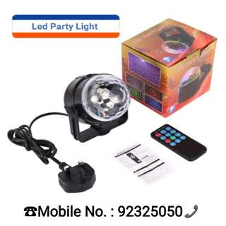 Led Disco Light / Water Ripple Light / Laser Disco Light