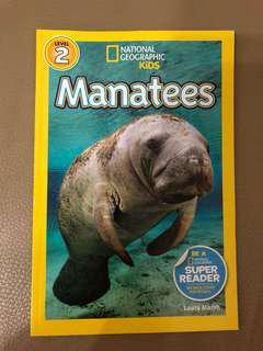 Manatees story book