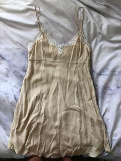 Aritzia Wilfred slip dress