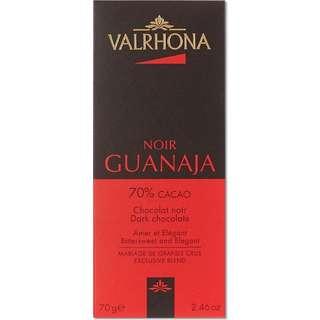 Fine Dark Chocolate Valrhona - 70 % Cacao Noir Guanaja