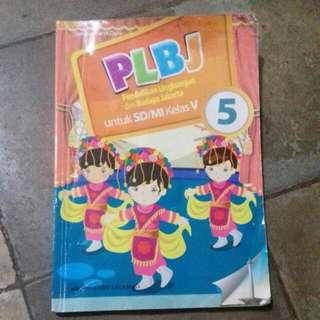 Buku PLBJ - Erlangga - Kelas 5 - Kelas V - SD - MI