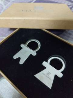 Couple key ring
