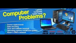 Computer/laptop/tablet 24HR repair service