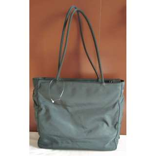 AUTHENTIC PRELOVED PRADA SHOULDER BAG - MOSS GREEN