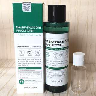 SOME BY MI aha bha pha 30 days miracle toner (10ml)
