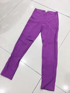 Esprit Purple leggings