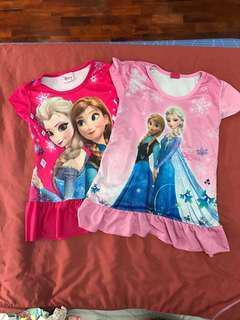 Elsa and Anna Sleepwear
