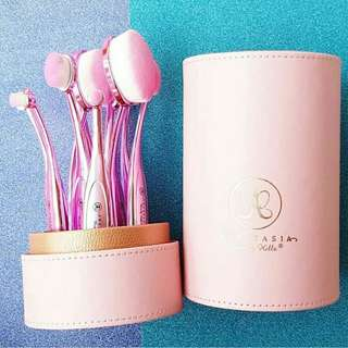 Oval brush tabung Anastasia Pink