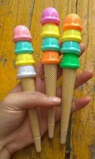 Pulpen ice cream