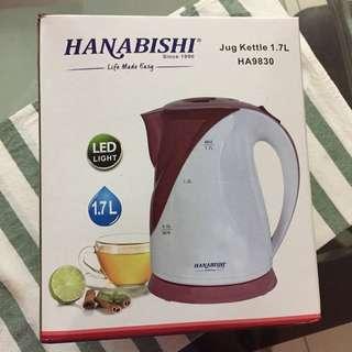 Hanabishi Electric Jug Kettle