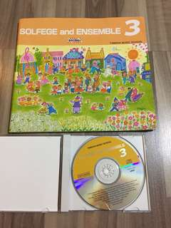Yamaha Solfege and Ensemble 3 CD + Boom