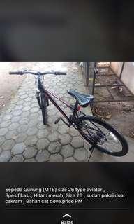Sepeda gunung MTB AVIATOR