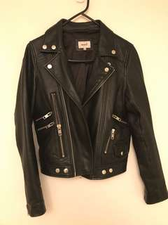 100% Leather Jacket - Seed