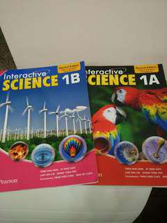 Interactive Science 1A & 1B