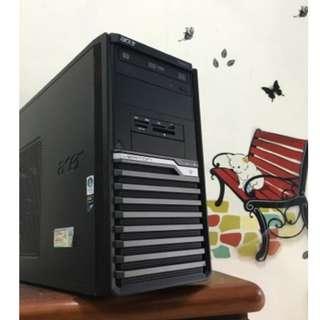 【電電電腦】二手ACER VERITON 商用機種 I5/8G/D5獨顯/一鍵還原(天堂M四開/LOL全開/AVA) 有WIN7序號貼