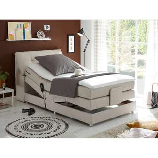 🚚 Concord 4. Box Spring Bed with Motor & Mattress (120x200cm)
