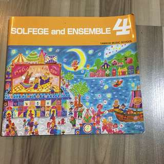 Yamaha Solfege and Ensemble Course Book 4