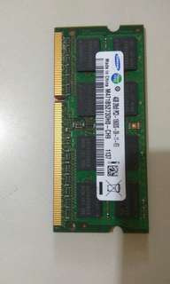 Samsung DDR3 4GB for notebook
