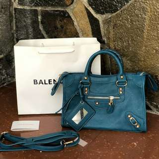 BALENCIAGA CITY BAG SEMI PREMIUM TOSCA