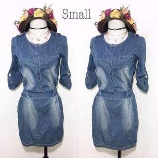Soft Denim Dress B78