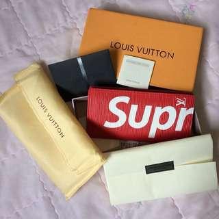 Authentic Louis Vuitton X Supreme Wallet (repriced)