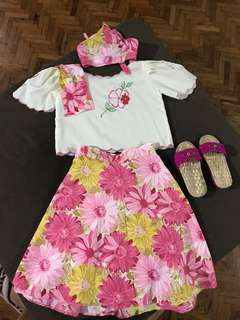 Filipiniana set fit for 4-5 years old